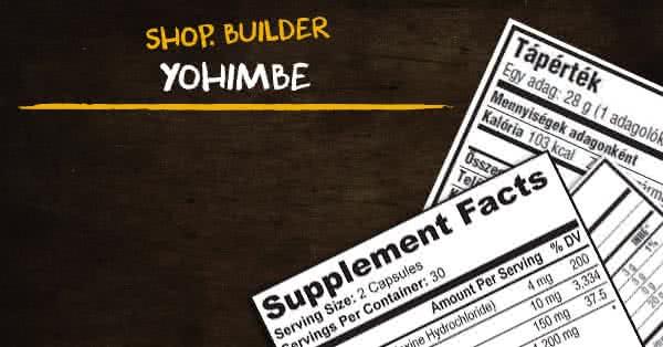 yohimbine zsírégető